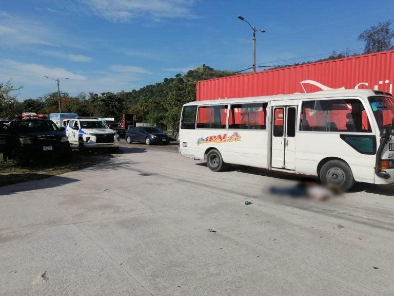 La MS-13 mató a conductor y ayudante en Choloma, según la Policía