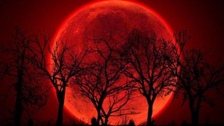 Mañana habrá triple evento lunar: eclipse total, super luna y luna de sangre