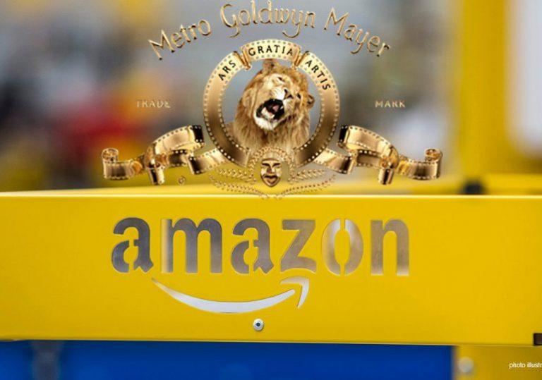 Por $8,450 millones Amazon compra el estudio de Metro Goldwyn Mayer