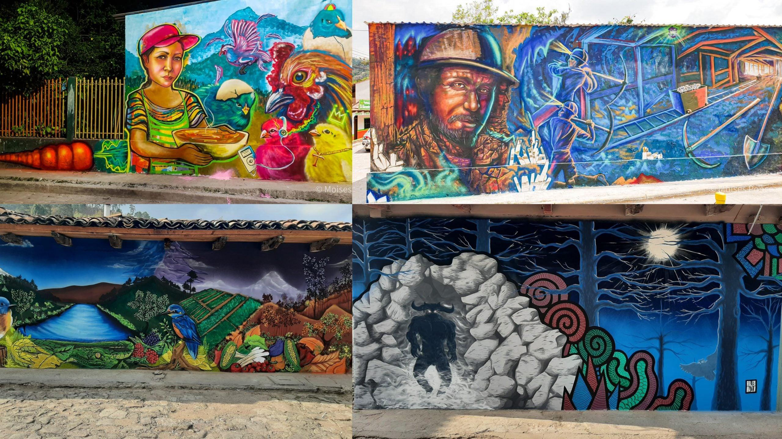 Murales en Tatumbla