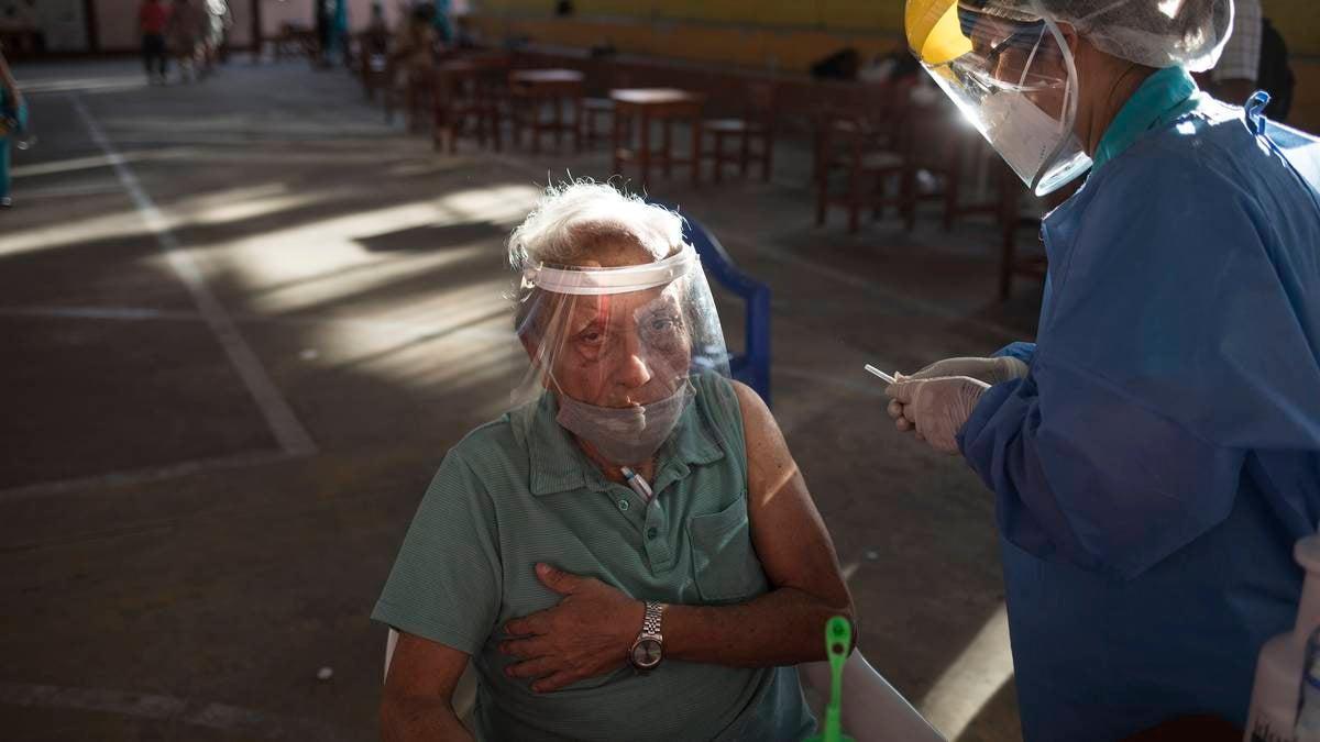 vacunación covid ancianos Honduras