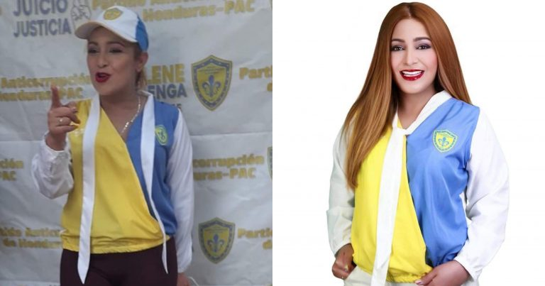 FARÁNDULA  Critican a Marlene Alvarenga por foto con «exceso de Photoshop»