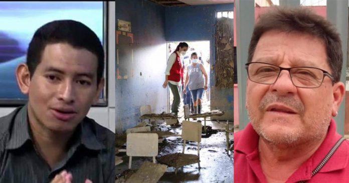 reconstruir centros educativos en Honduras