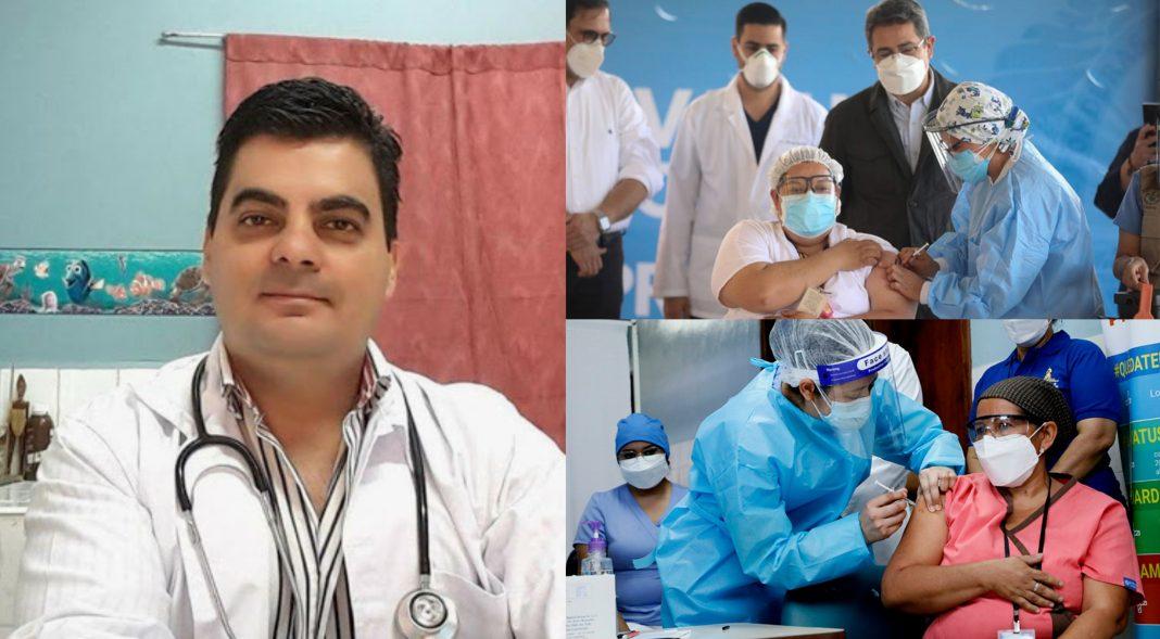 Médico final pandemia vacunación