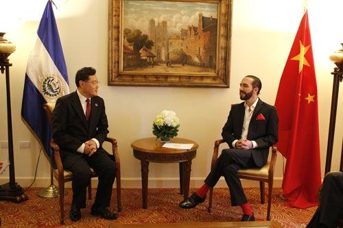 Embajad de China se pronuncia ante situación política del Salvador.