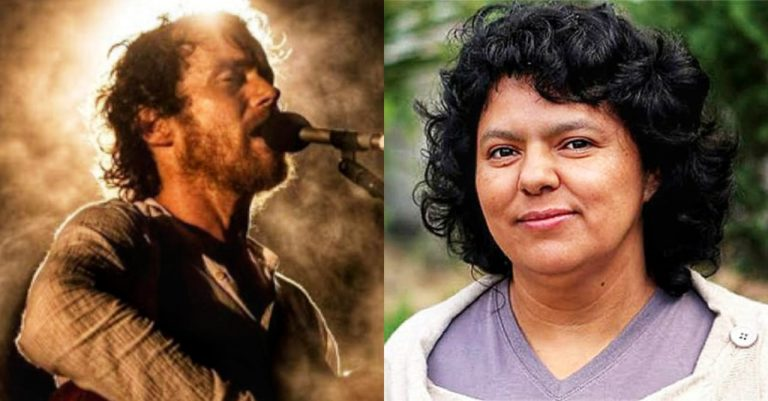 VÍDEO  Músico irlandés dedica canción a la ambientalista hondureña Berta Cáceres