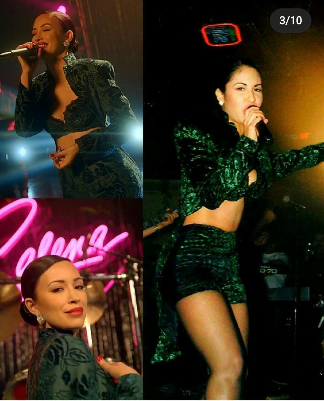 Vestuarios segunda temporada Selena