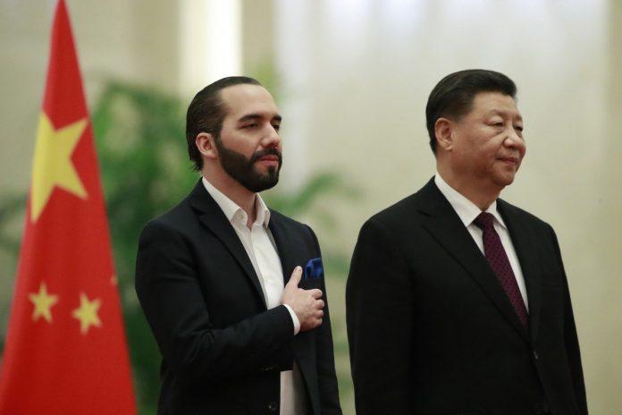 china sobre el salvador