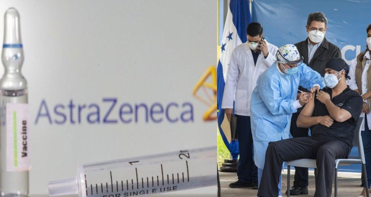 llegan dosis vacunas de AstraZeneca