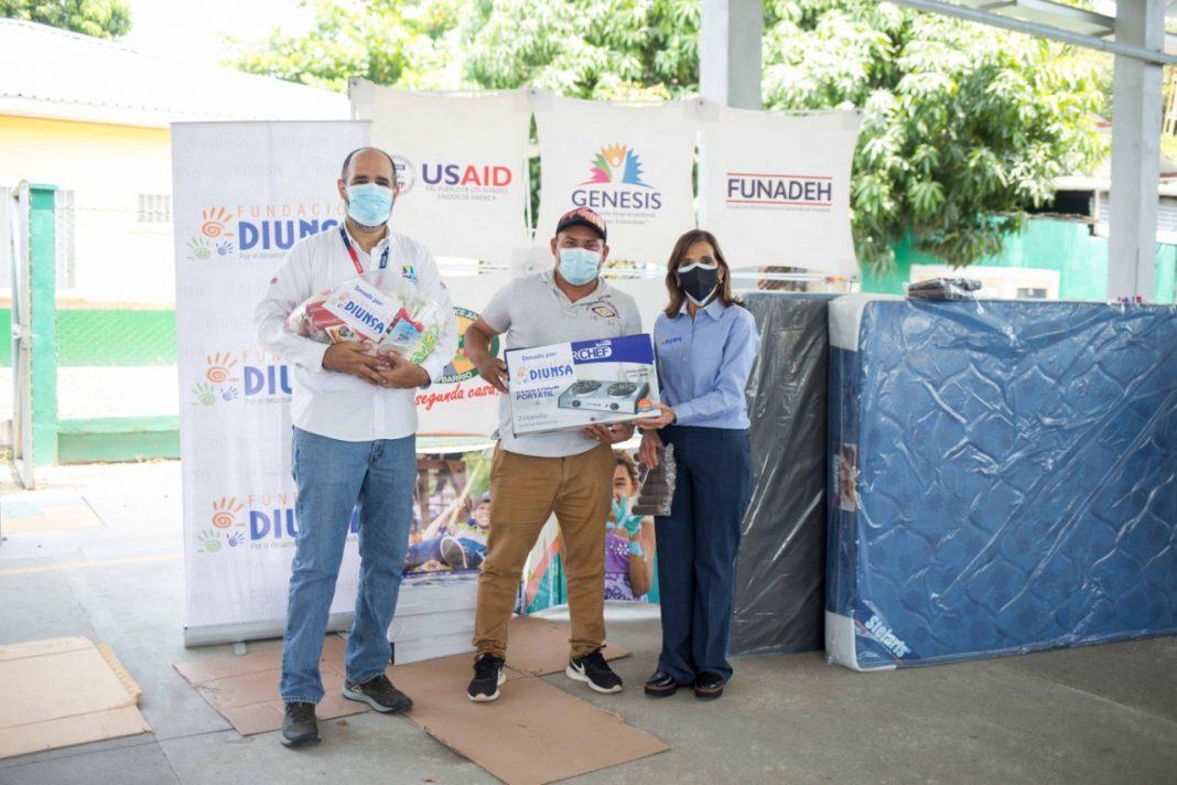 Fundación Diunsa entrega ayuda humanitaria