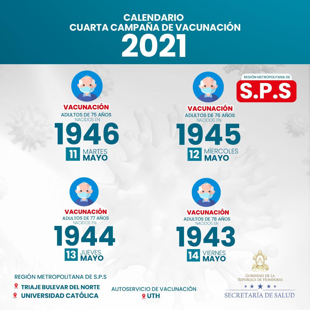 SPS vacunación autoservicio