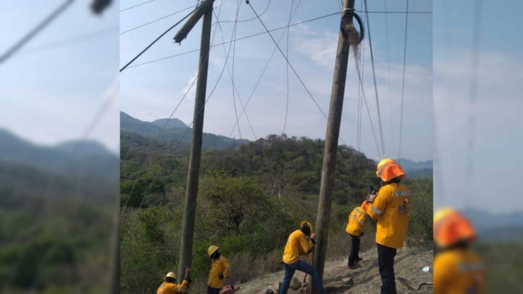 EEH cortes de energía en Honduras