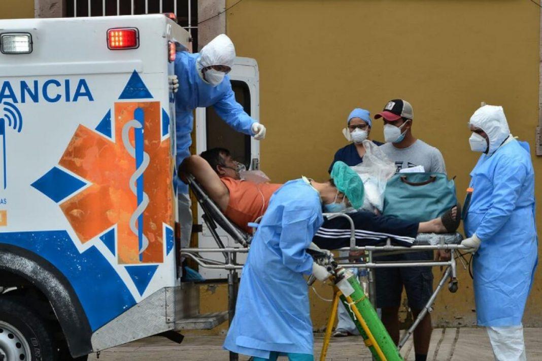 pacientes hospitalizados en Honduras