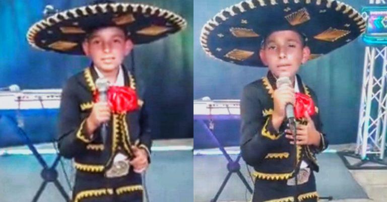 VIDEO  Niño hondureño sorprende con su voz y logra millones de reproducciones