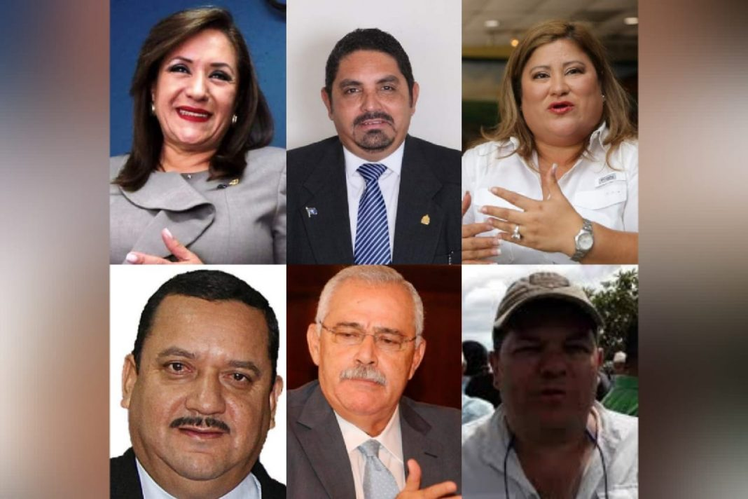 lista funcionarios corruptos honduras