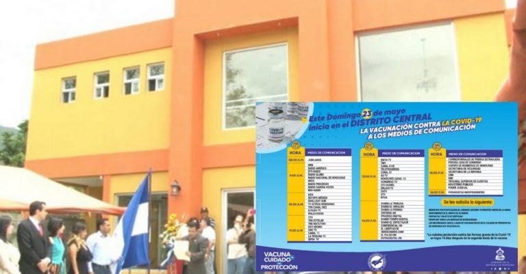 CPH: Se vacunarán 2500 periodistas hondureños contra la covid-19