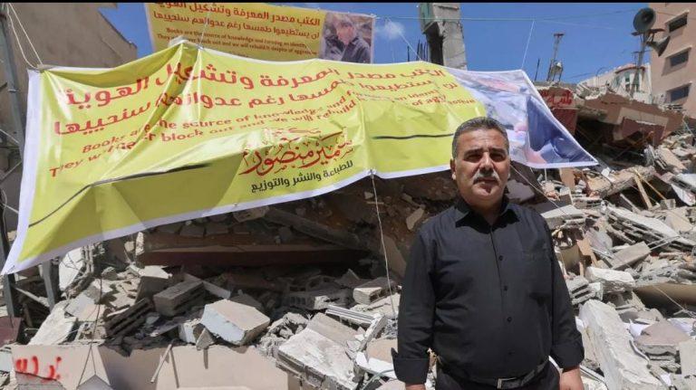Tragedia para jóvenes: destruyen El Templo de los Libros en Gaza