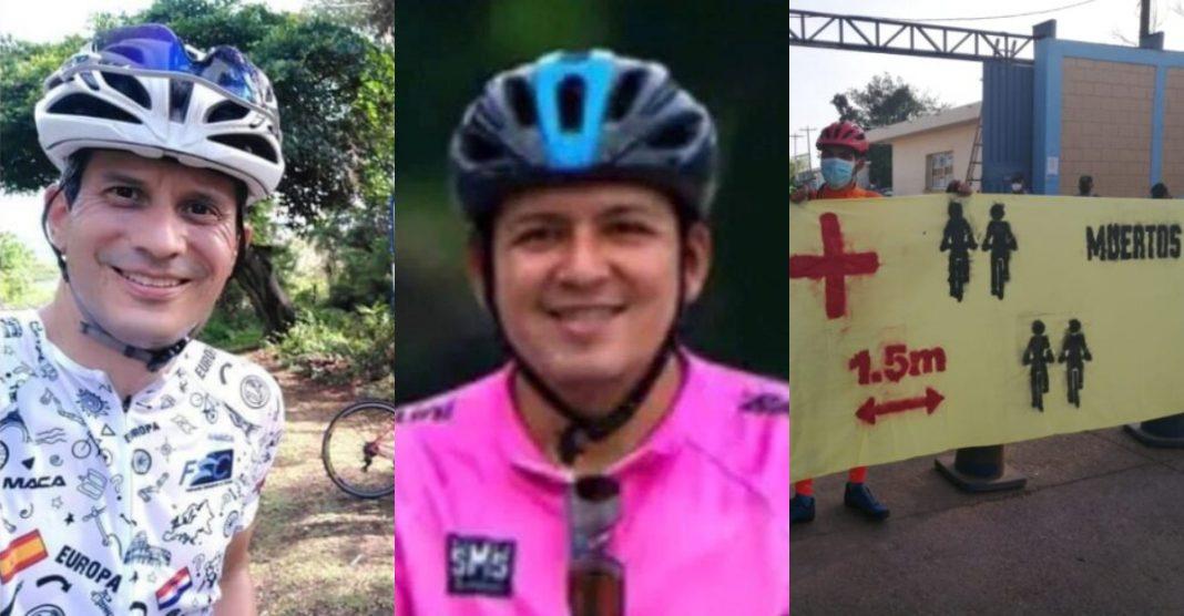 ciclistas muertos honduras