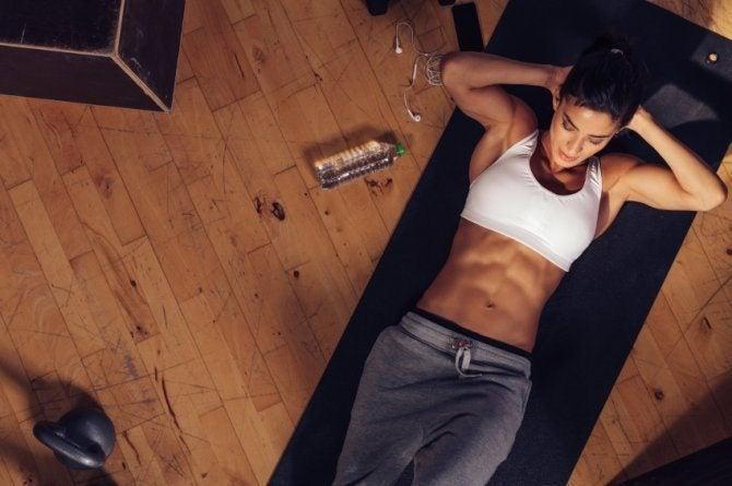 cómo tener abdomen de acero