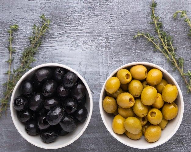 SALUD | Aceitunas verdes y negras, ¿cuáles son mejores para la salud?