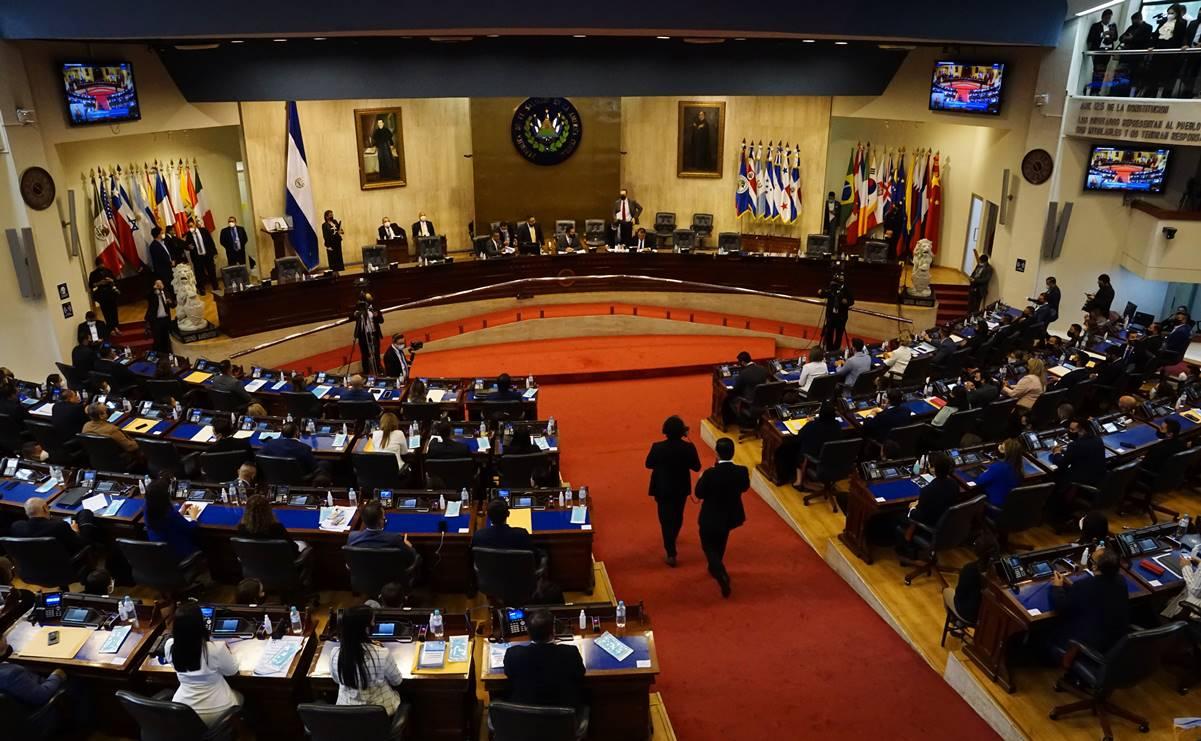 Asamblea legislativa El Salvador Magistrados