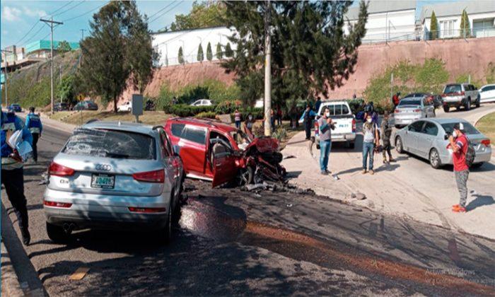 accidente anillo periférico tegucigalpa