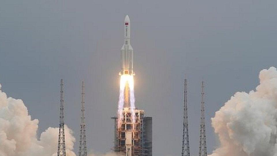 cohete de china