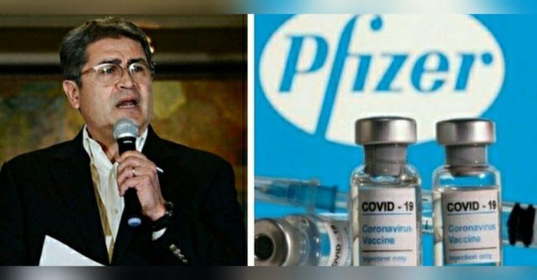 """JOH anuncia """"millonaria"""" vacunación en junio con lote de Pfizer"""