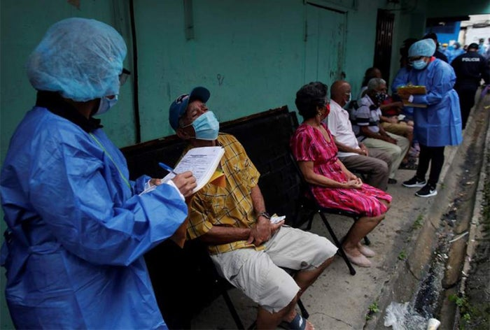 COVID Honduras hombres mujeres