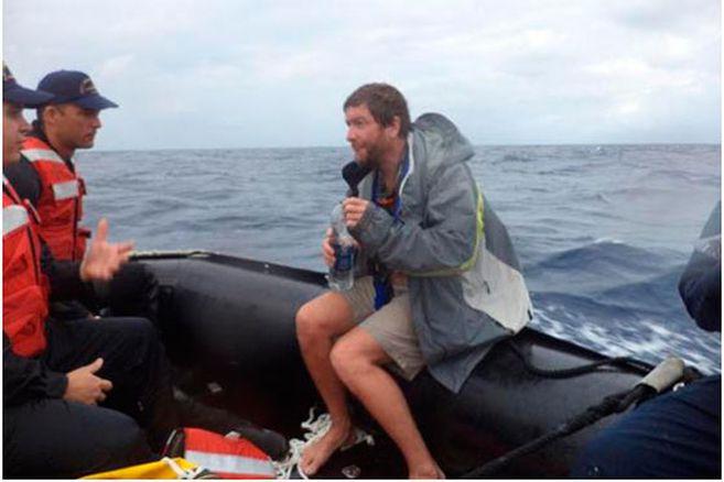 Rescatan en el Caribe a tres estadounidenses que zarparon desde Honduras