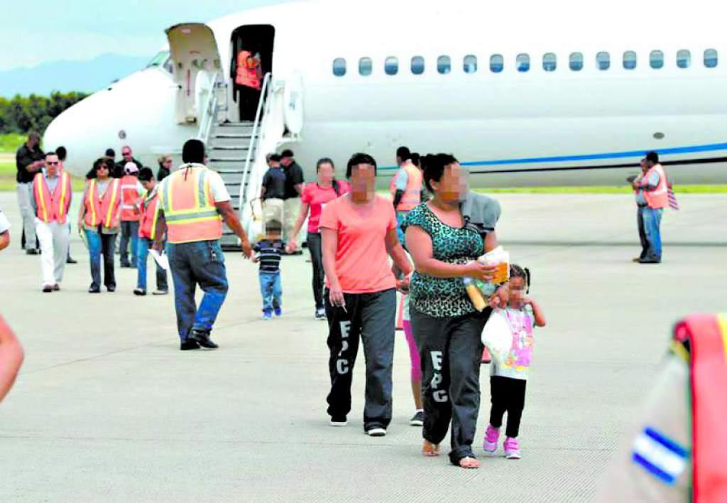 1343 niños migrantes Honduras