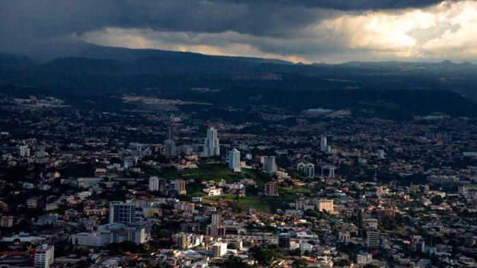 Cielos nublados Lluvias Honduras