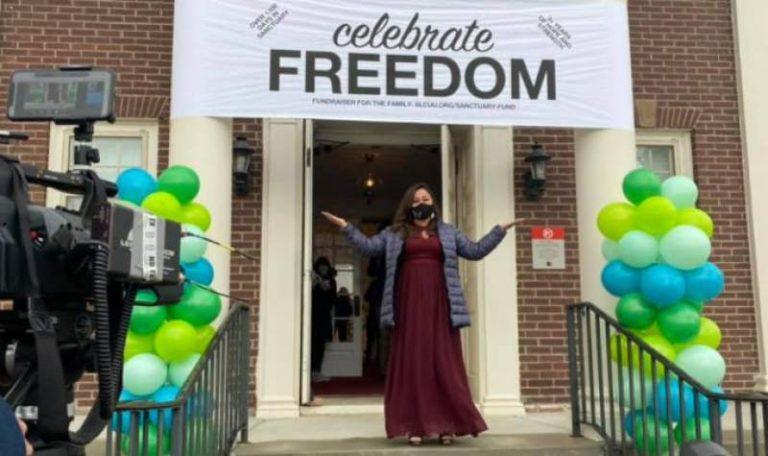 ¡Por fin legal! Vicky, la hondureña que estuvo tres años refugiada en iglesia de EEUU