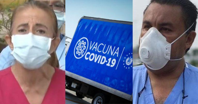 """""""No hay riesgos"""", dicen doctores sobre dosis de El Salvador que vencen el 1 de junio"""