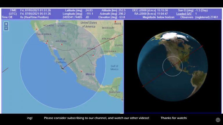 Honduras, posible zona de impacto: ¿dónde caerá el cohete chino fuera de control?