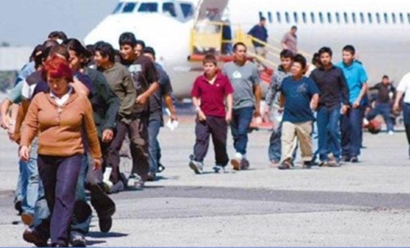 migrantes deportados a honduras