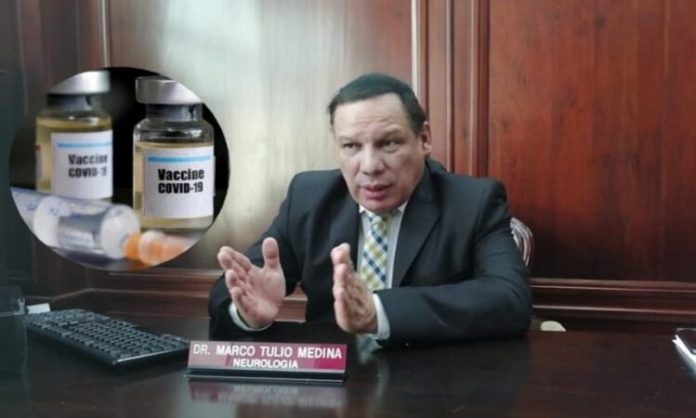 hondureños viajarán a vacunarse a El Salvador