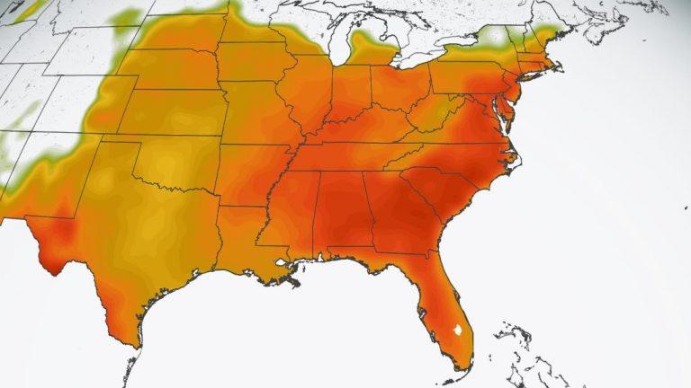 ¡Atención, hondureños en EEUU! Enorme ola de calor está a punto de azotar