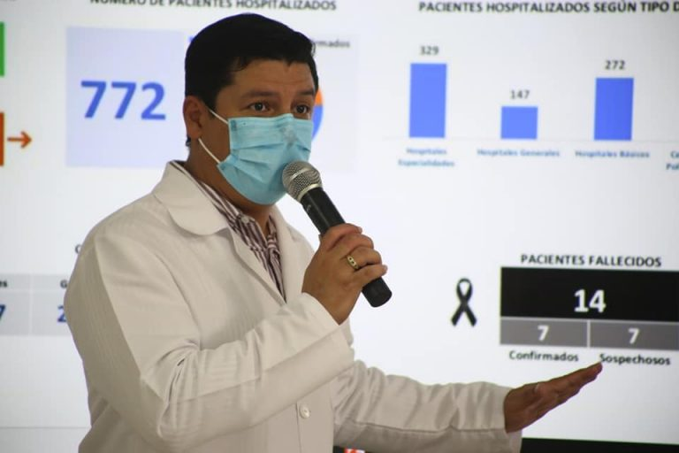 """""""No baja curva de COVID-19"""": Viceministro de Salud pide extremar medidas"""