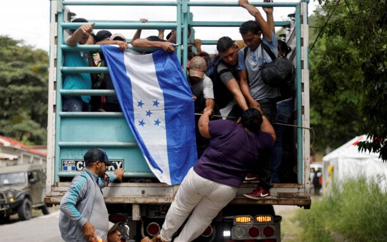 ONU: Desplazamientos de hondureños aumentan por violencia, pandemia y huracanes