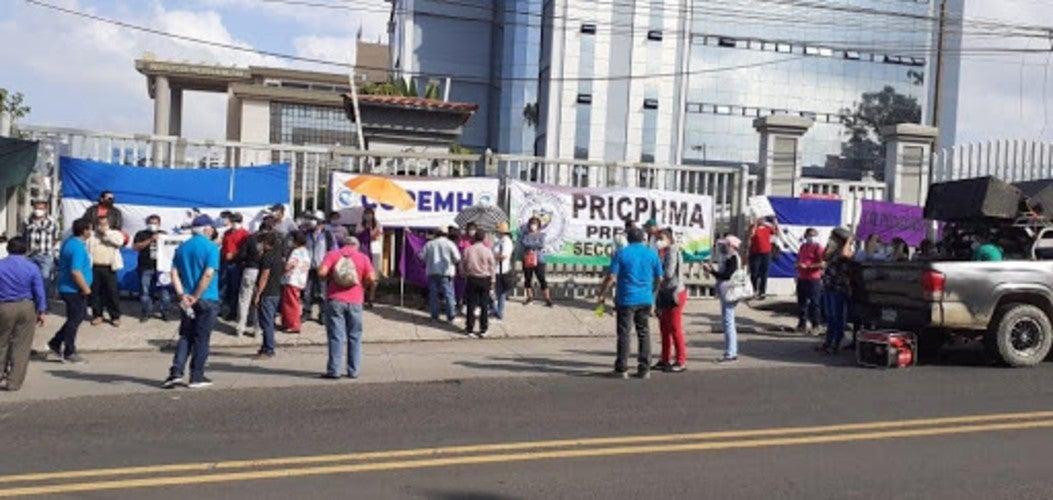 médicos docentes protestas