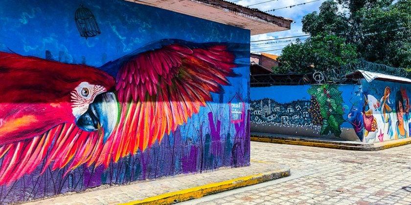 Honduras murales