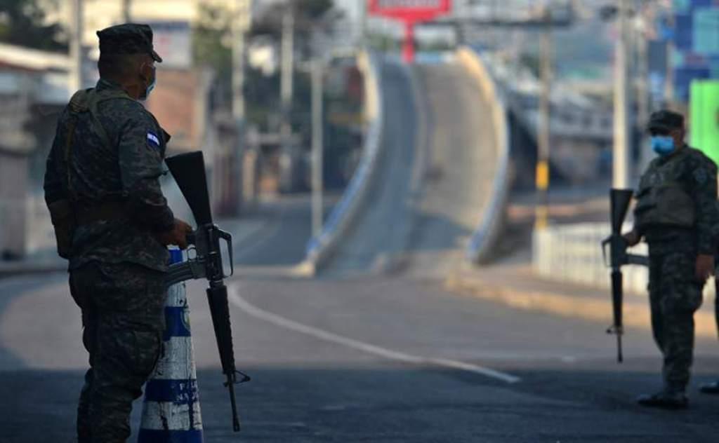 toque de queda y circulación en Honduras