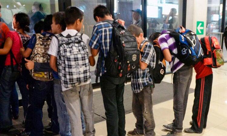 DINAF: Más de 2,200 niños migrantes han sido retornados a Honduras en 2021