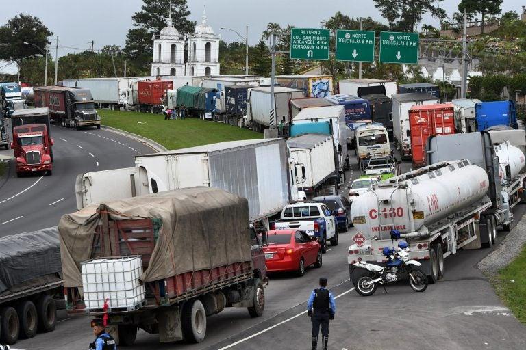 Transporte de carga pesada anuncia paro nacional en Honduras