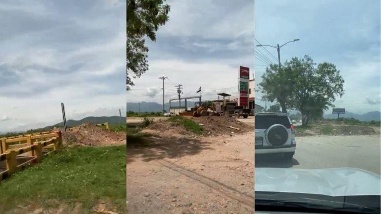 Puente de San Manuel lleva ocho meses cerrado; denuncian tráfico a horas pico
