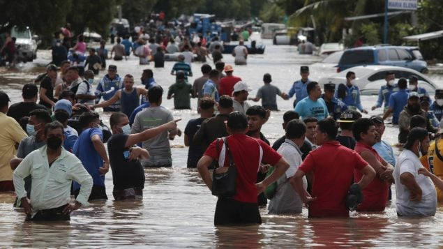 Cruz Roja Internacional prevé récord de tormentas para Honduras y CA en 2021