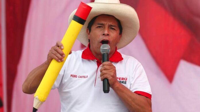 Pedro Castillo toma la ventaja en elecciones de Perú con 92,9 % de votos escrutados