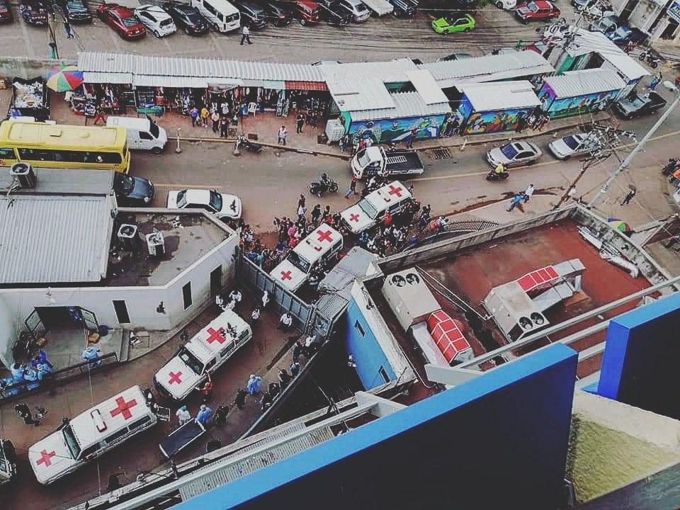 43 heridos La Tolva