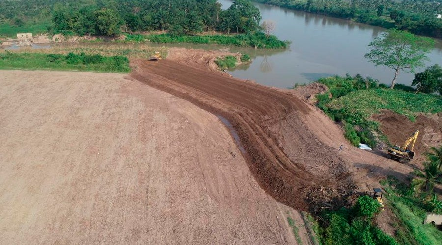 Valle de Sula reparación bordos
